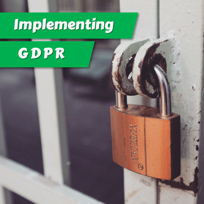 Implementing GDPR